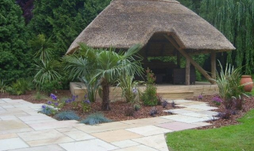 Thatched Garden house